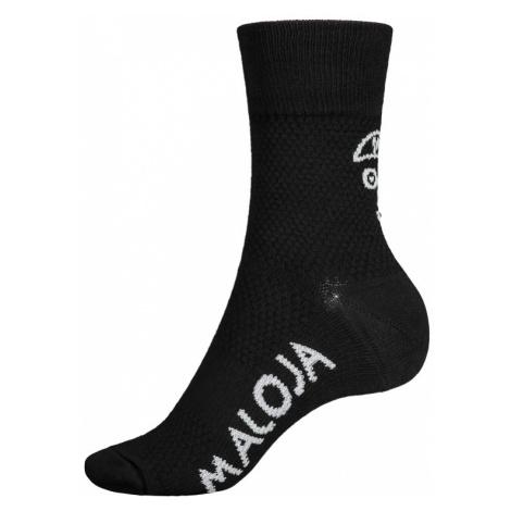 Ponožky Maloja VandasM. čierne