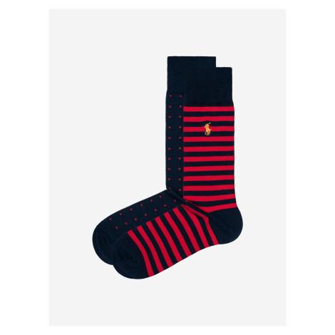 Ponožky 2 páry Polo Ralph Lauren Modrá