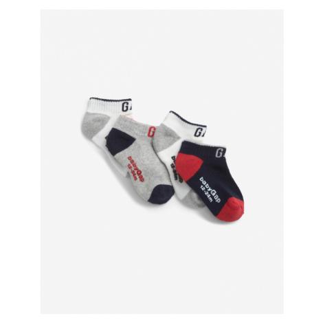GAP Ponožky 4 páry detské Viacfarebná