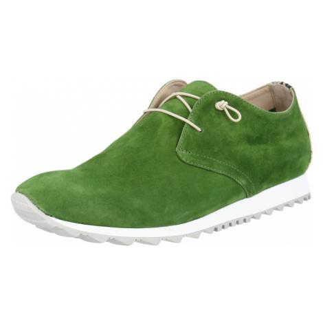 Donna Carolina Šnurovacie topánky  zelená