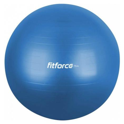 Fitforce GYM ANTI BURST modrá - Gymnastická lopta
