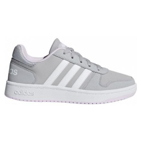 adidas HOOPS 2.0 K sivá - Detská obuv
