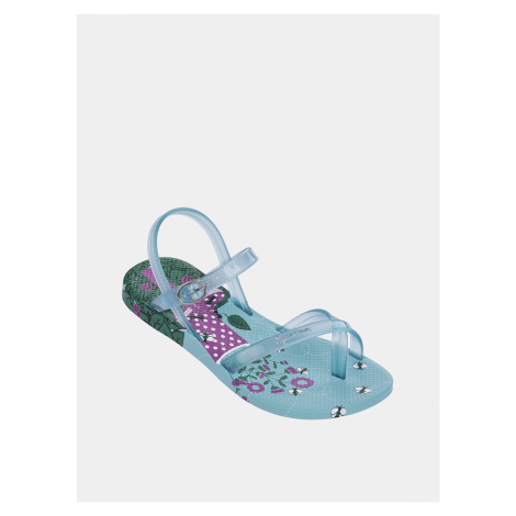 Modré dievčenské sandále Ipanema