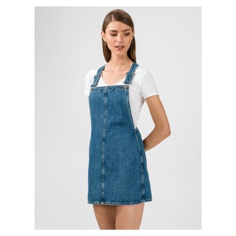 Rifľové sukne Pepe Jeans