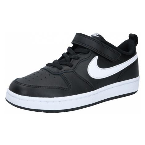 Nike Sportswear Tenisky 'Court Borough'  biela / čierna