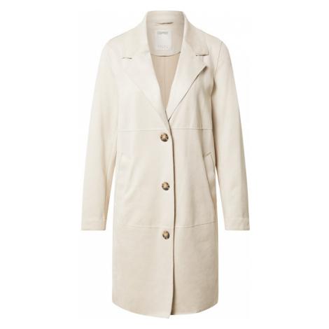 ESPRIT Prechodný kabát  krémová