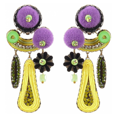 Tatami Woman's Clip Earrings E-Wo010Y
