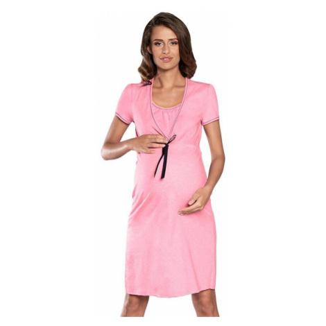 Materská nočná košeľa Kalini ružová Italian Fashion