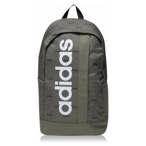 Adidas Linear Backpack Khaki AOP