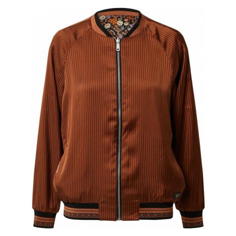 SCOTCH & SODA Prechodná bunda  zmiešané farby / hnedá