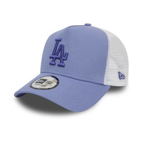Dámska Šiltovka New Era 9Forty A-Frame Trucker Essential Mlb Los Angeles Dodgers Lavender/White