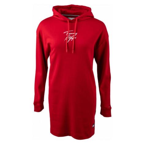 Tommy Hilfiger HOODIE DRESS - Dámske mikinové šaty