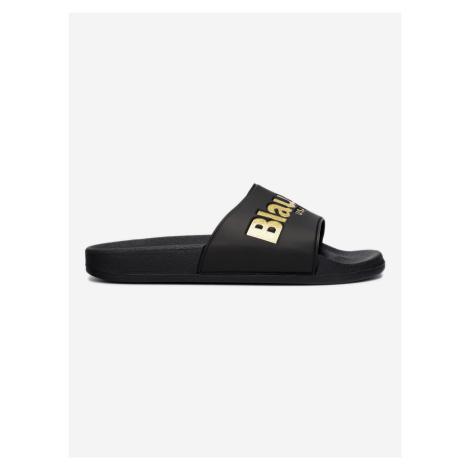 Pantofle Blauer Čierna