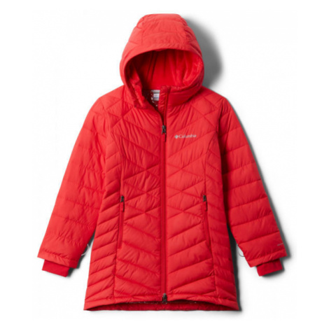 Columbia G HEAVENLY LONG JACKET červená - Dievčenská bunda