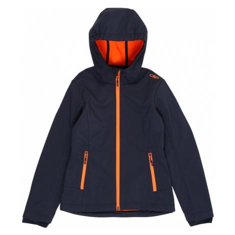 CMP Outdoorová bunda  oranžová / tmavomodrá