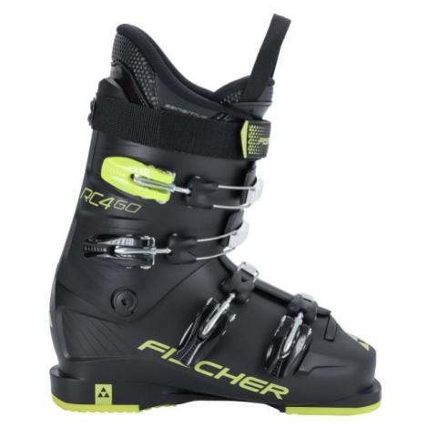 Fischer RC4 60 JR čierna - Juniorské lyžiarky