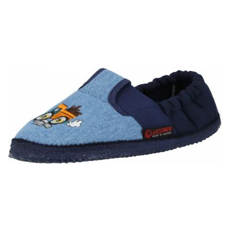 GIESSWEIN Papuče 'Arbach'  modrá denim / námornícka modrá / svetlooranžová