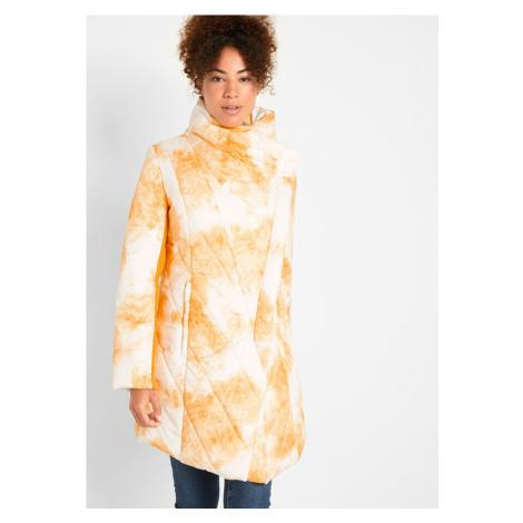 Prešívaná bunda s veľkým šálovým golierom bonprix
