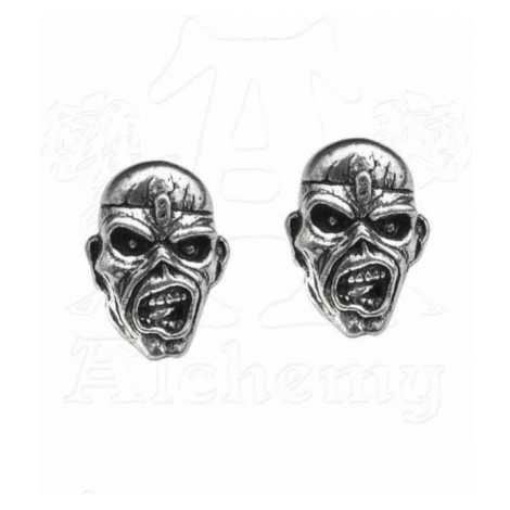 náušnice Iron Maiden - Eddie Head - ALCHEMY GOTHIC - PE6