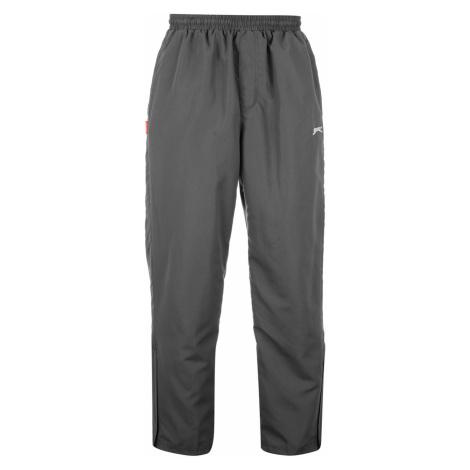 Slazenger Open Hem Woven Sweatpants pánske Charcoal