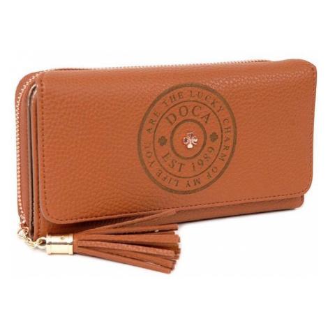 Dámska peňaženka Doca 64769 - hnedá