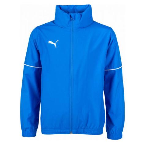 Puma TEAM GOAL RAIN JACKET JR - Detská športová bunda