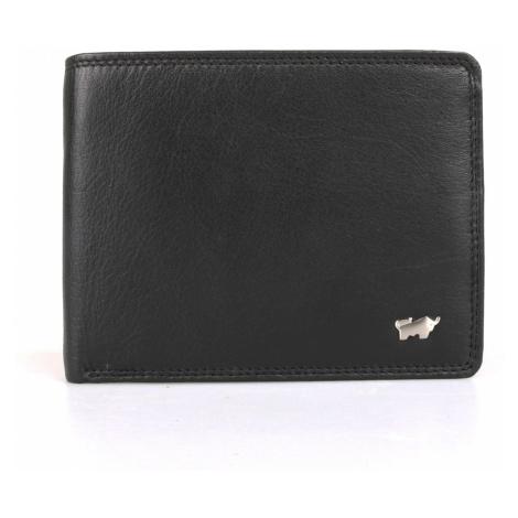 Braun Büffel Pánska kožená peňaženka Golf 2.0 90374-051 - černá