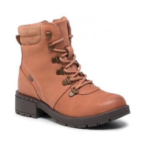 Šnurovacia obuv Lasocki Young CI12-DANA-01 Prírodná koža(useň) - Zamš