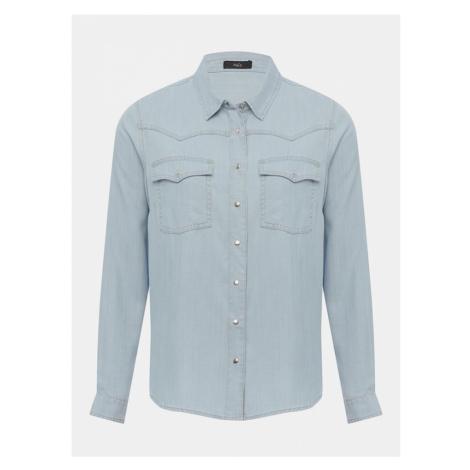 Svetlomodrá rifľová košeľa M&Co