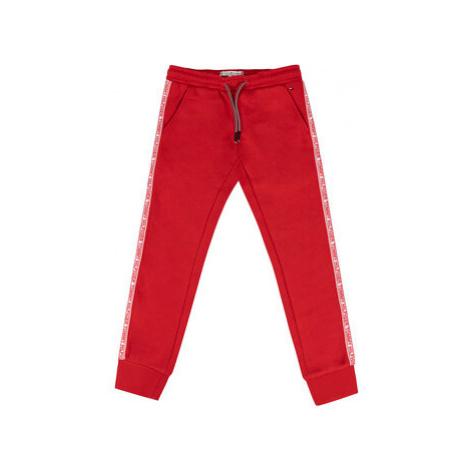 TOMMY HILFIGER Teplákové nohavice KG0KG04535 D Červená Regular Fit