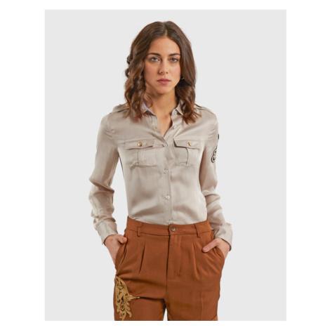 Košeľa La Martina Woman Viscose Satin Shirt