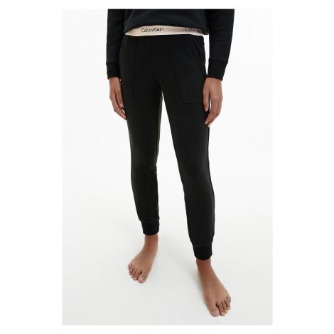 Calvin Klein Modern Cotton fashion tepláky dámske- čierne Veľkosť: M