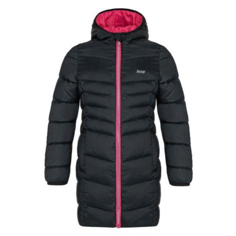 Loap IDUZIE čierna - Dievčenský zimný kabát