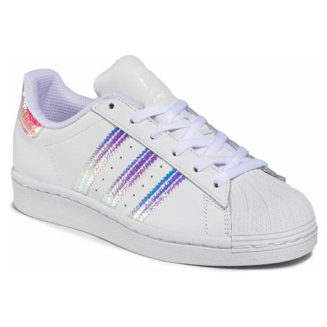 Topánky adidas - Superstar J FV3139 Ftwwht/Ftwwht/Ftwwht