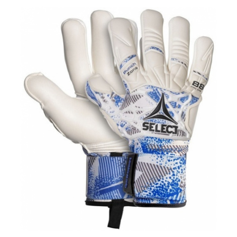 Brankárske rukavice Select GK gloves 88 Pro Grip Negative cut bielo modrá