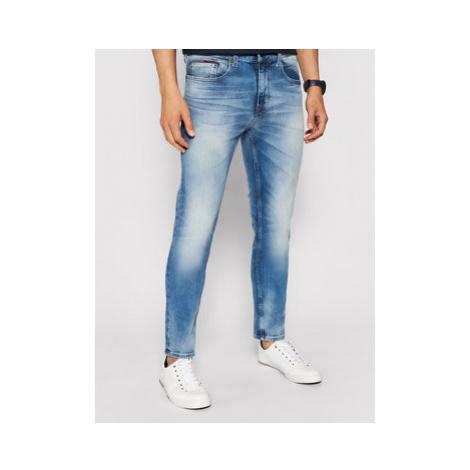 Tommy Jeans Džínsy Austin DM0DM09555 Modrá Slim Fit Tommy Hilfiger
