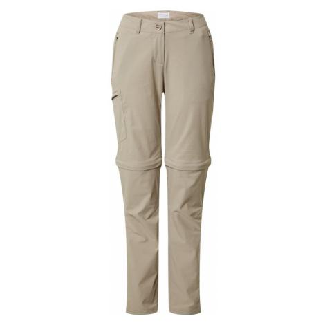 CRAGHOPPERS Outdoorové nohavice  béžová