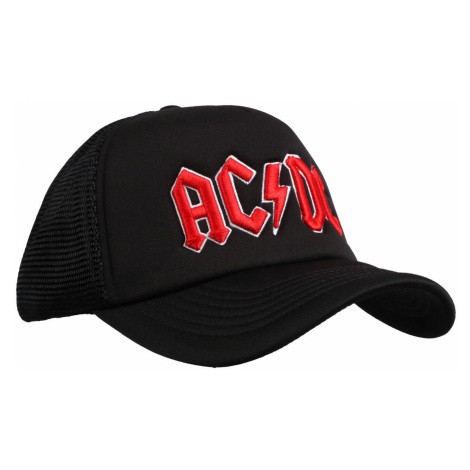 šiltovka ROCK OFF AC-DC Red Logo Black