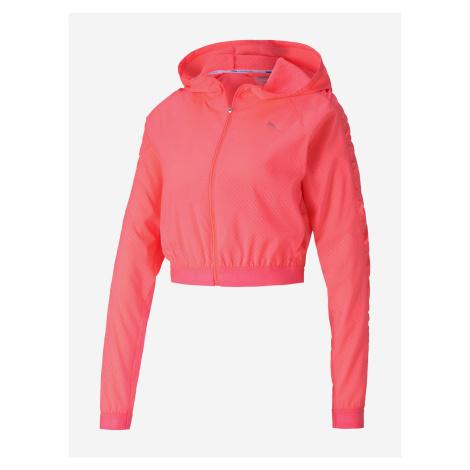 Bunda Puma Be Bold Woven Jacket Růžová