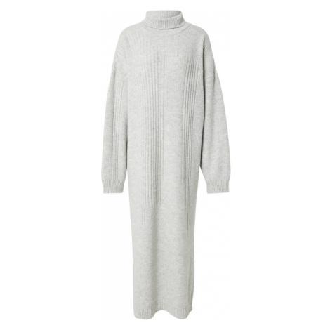 Karo Kauer Pletené šaty 'ENYA'  svetlosivá