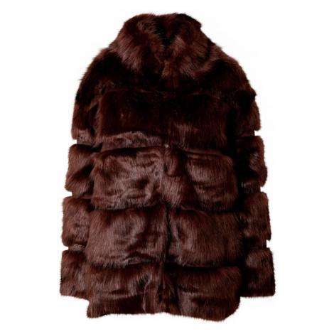 Missguided Prechodná bunda  čokoládová