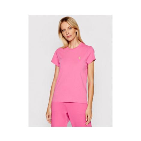 Polo Ralph Lauren Tričko Ssl 211734144045 Ružová Regular Fit