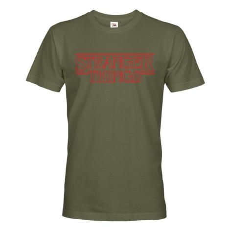 Pánske tričko s potlačou Stranger Things