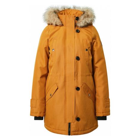 VERO MODA Zimný kabát 'Excursion'  žltá