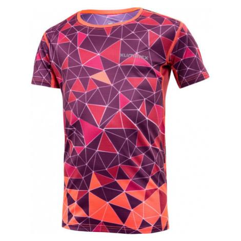 Klimatex FEO fialová - Detské športové tričko