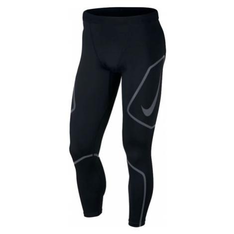 Nike TECH TIGHT FL GX čierna - Pánske bežecké legíny