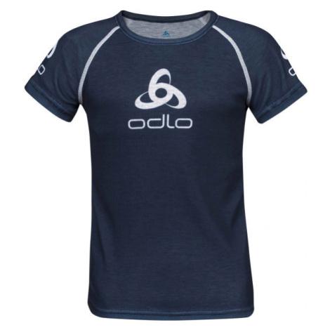 Odlo SUW KID'S TOP CREW NECK S/S ORIGINALS LIGHT čierna - Detské tričko