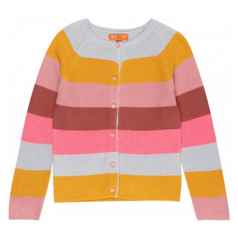 STACCATO Kardigán  medová / svetlosivá / ružová / rosé / pastelovo červená