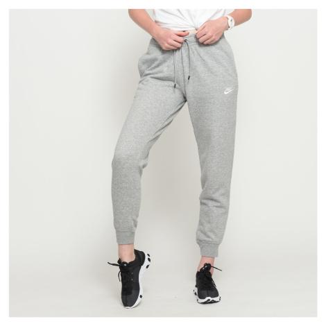Nike W NSW Essential Pant Reg Fleece melange šedé
