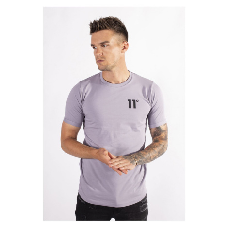 11 Degrees Muscle Fit T Shirt Mulled Grape